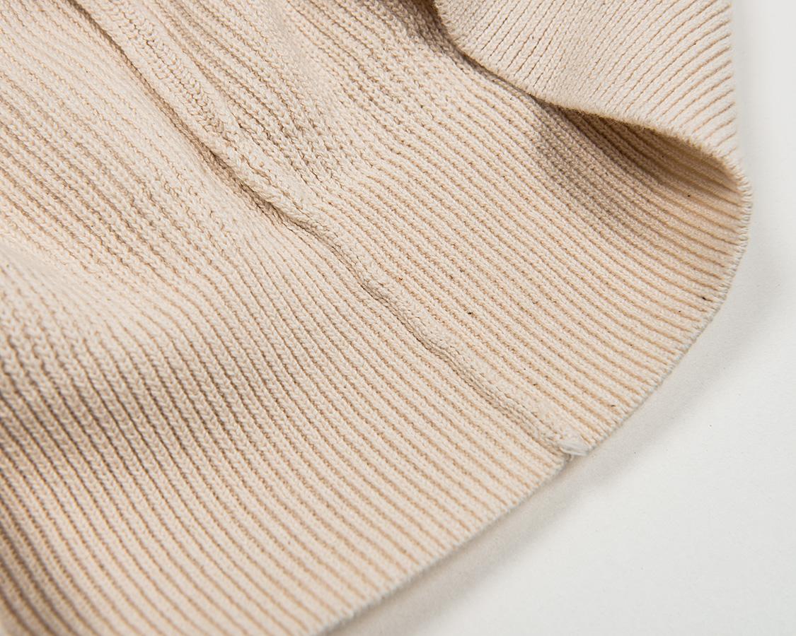 ワーカーズ セーター コットンニット ローゲージ 通販